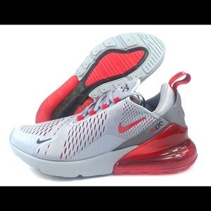 "Nike Air Max 270 ""Wolf Grey Red"""